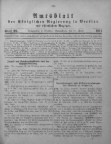 Amts-Blatt der Königlichen Regierung in Breslau, 1914, Bd. 105, St. 26