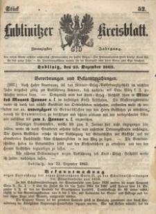 Lublinitzer Kreisblatt, 1863, Jg. 20, St. 52