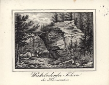 Weckelsdorfer Felsen der Thränenstein