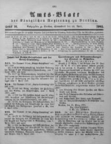 Amts-Blatt der Königlichen Regierung zu Breslau, 1905, Bd. 96, St. 16