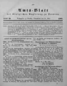 Amts-Blatt der Königlichen Regierung zu Breslau, 1905, Bd. 96, St. 20
