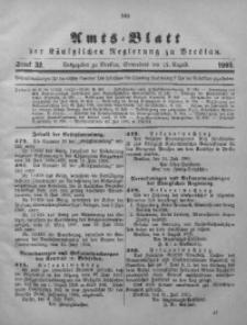 Amts-Blatt der Königlichen Regierung zu Breslau, 1905, Bd. 96, St. 32