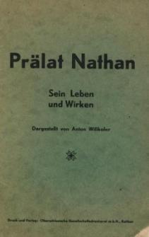 Prälat Nathan : sein Leben und Wirken.