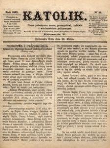 Katolik, 1872, R. 5, nr 13