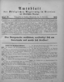 Amtsblatt der Königlichen Regierung in Breslau, 1915, Bd. 106, St. 47