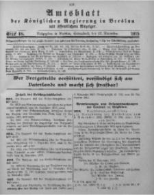 Amtsblatt der Königlichen Regierung in Breslau, 1915, Bd. 106, St. 48