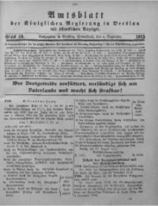Amtsblatt der Königlichen Regierung in Breslau, 1915, Bd. 106, St. 49