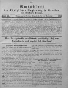 Amtsblatt der Königlichen Regierung in Breslau, 1915, Bd. 106, St. 50
