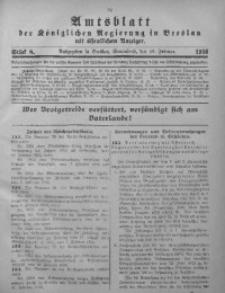 Amtsblatt der Königlichen Regierung in Breslau, 1916, Bd. 107, St. 8