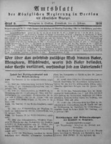 Amtsblatt der Königlichen Regierung in Breslau, 1916, Bd. 107, St. 9