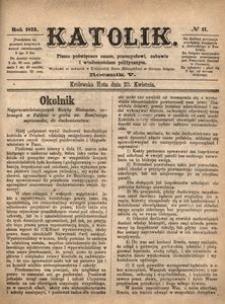 Katolik, 1872, R. 5, nr 17