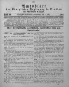 Amtsblatt der Königlichen Regierung in Breslau, 1917, Bd. 108, St. 19