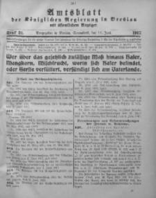 Amtsblatt der Königlichen Regierung in Breslau, 1917, Bd. 108, St. 24