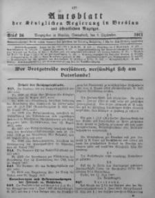 Amtsblatt der Königlichen Regierung in Breslau, 1917, Bd. 108, St. 36