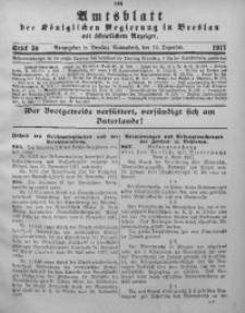 Amtsblatt der Königlichen Regierung in Breslau, 1917, Bd. 108, St. 50