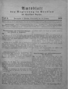 Amtsblatt der Regierung in Breslau, 1920, Bd. 111, St. 2