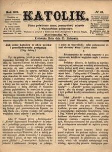 Katolik, 1872, R. 5, nr 47