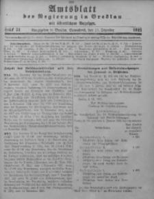 Amtsblatt der Regierung in Breslau, 1921, Bd. 112, St. 51