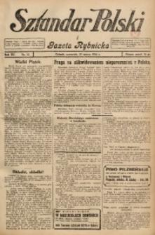 Sztandar Polski i Gazeta Rybnicka, 1934, R. 15, Nr. 37