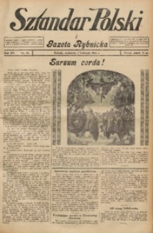 Sztandar Polski i Gazeta Rybnicka, 1934, R. 15, Nr. 38