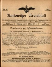 Kattowitzer Kreisblatt, 1914, nr44