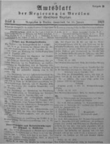Amtsblatt der Regierung in Breslau, 1923, Bd. 114, St. 3
