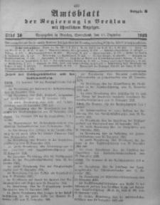 Amtsblatt der Regierung in Breslau, 1923, Bd. 114, St. 50