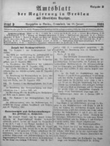 Amtsblatt der Regierung in Breslau, 1924, Bd. 115, St. 3