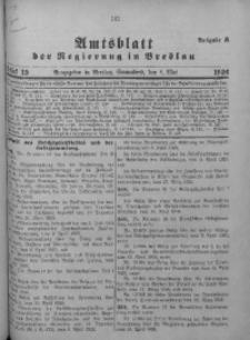 Amtsblatt der Regierung in Breslau, 1926, Bd. 117, St. 19