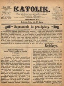 Katolik, 1873, R. 6, nr 13