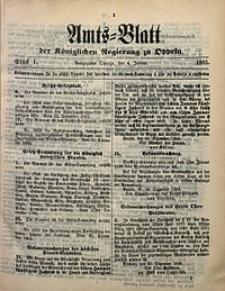 Amts-Blatt der Königlichen Regierung zu Oppeln, 1895, Bd. 80, St. 1