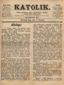 Katolik, 1873, R. 6, nr 16