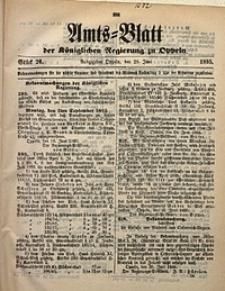 Amts-Blatt der Königlichen Regierung zu Oppeln, 1895, Bd. 80, St. 26
