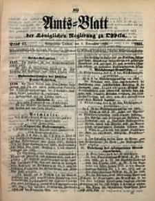 Amts-Blatt der Königlichen Regierung zu Oppeln, 1895, Bd. 80, St. 45