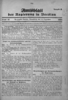 Amtsblatt der Regierung in Breslau, 1929, Bd. 120, St. 37