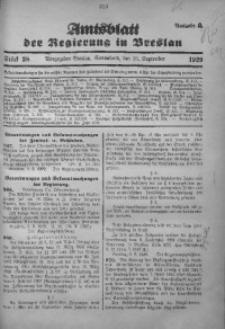 Amtsblatt der Regierung in Breslau, 1929, Bd. 120, St. 38