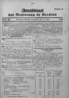 Amtsblatt der Regierung in Breslau, 1931, Bd. 122, St. 26