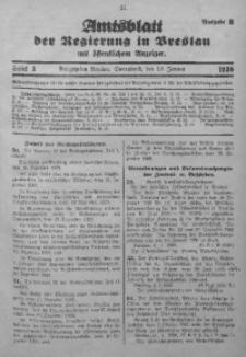 Amtsblatt der Regierung in Breslau, 1930, Bd. 121, St. 3
