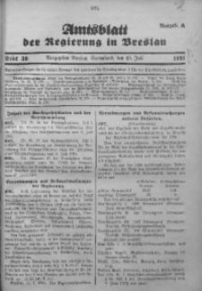 Amtsblatt der Regierung in Breslau, 1931, Bd. 122, St. 30