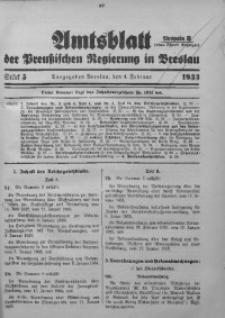 Amtsblatt der Preußischen Regierung in Breslau, 1933, Bd. 124, St. 5
