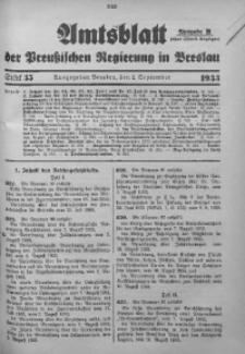 Amtsblatt der Preußischen Regierung in Breslau, 1933, Bd. 124, St. 35