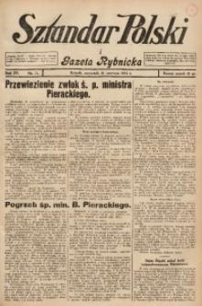 Sztandar Polski i Gazeta Rybnicka, 1934, R. 15, Nr. 71
