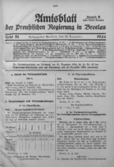 Amtsblatt der Preußischen Regierung in Breslau, 1934, Bd. 125, St. 51