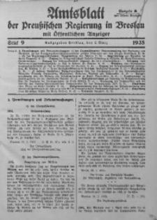 Amtsblatt der Preußischen Regierung in Breslau, 1935, Bd. 126, St. 9