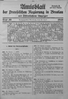 Amtsblatt der Preußischen Regierung in Breslau, 1935, Bd. 126, St. 30