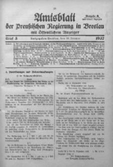 Amtsblatt der Preußischen Regierung in Breslau, 1937, Bd. 128, St. 5