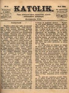 Katolik, 1874, R. 7, nr 15