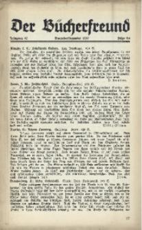 Der Bücherfreund, 1939, Jg. 12, Folge 5/6