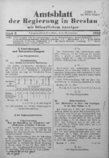 Amtsblatt der Regierung in Breslau, 1942, Bd. 133, St. 2
