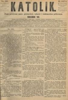 Katolik, 1874, R. 7, nr 30